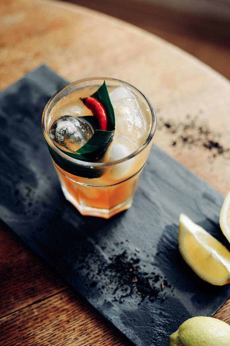 Thai & Techno - Love You Long Time Tea cocktail 2