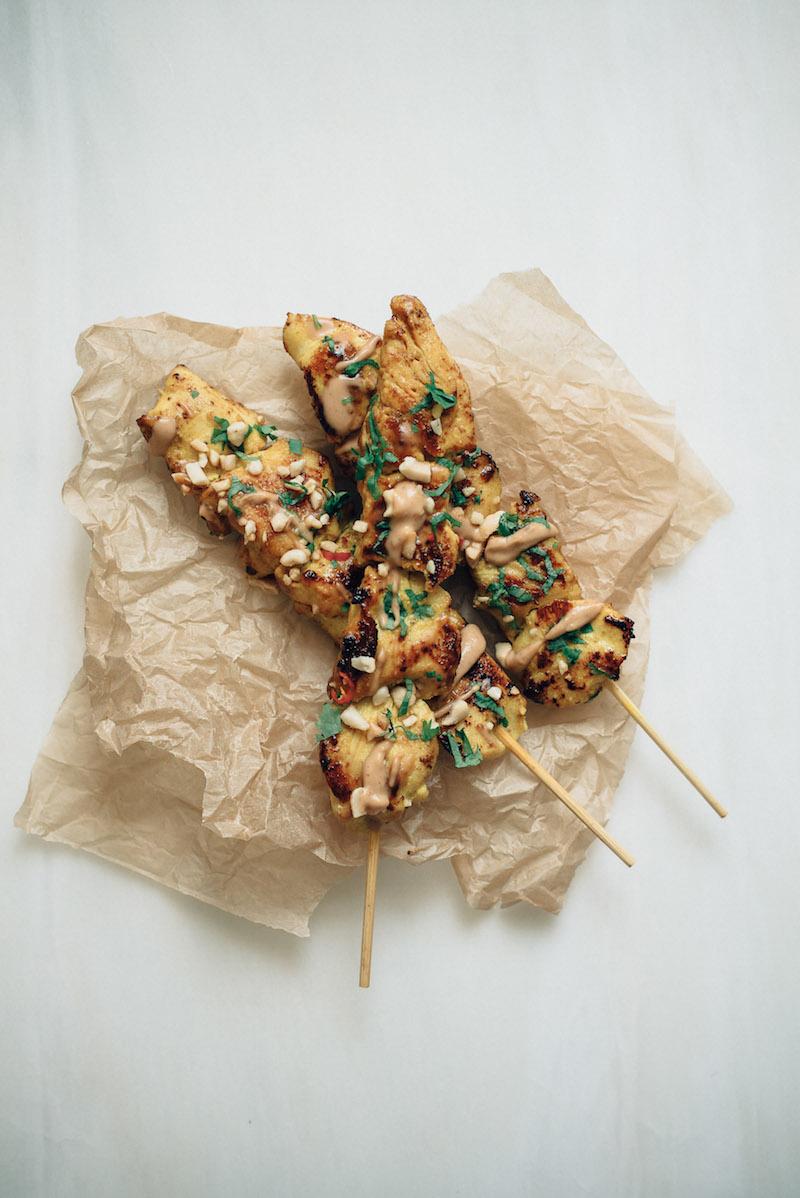 Thai&Techno - BBQ chicken satay