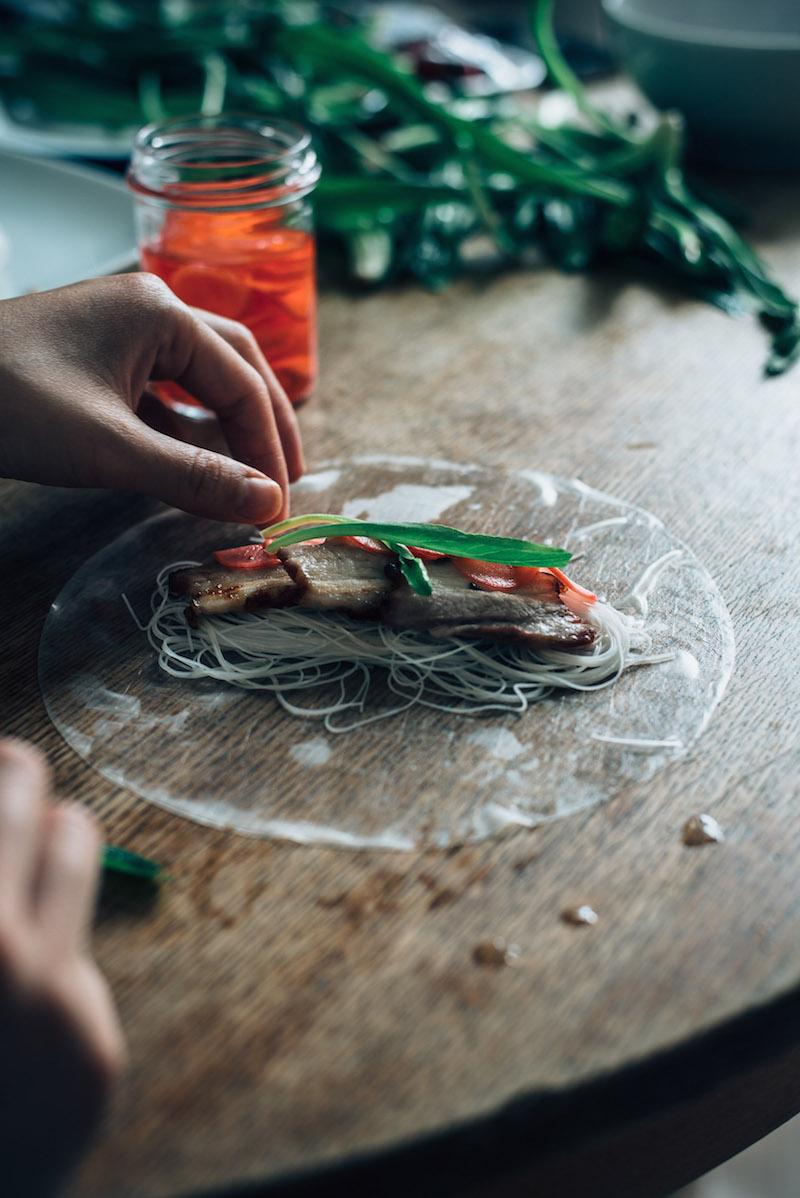 Thai&Techno - BBQ pork thai roll 5