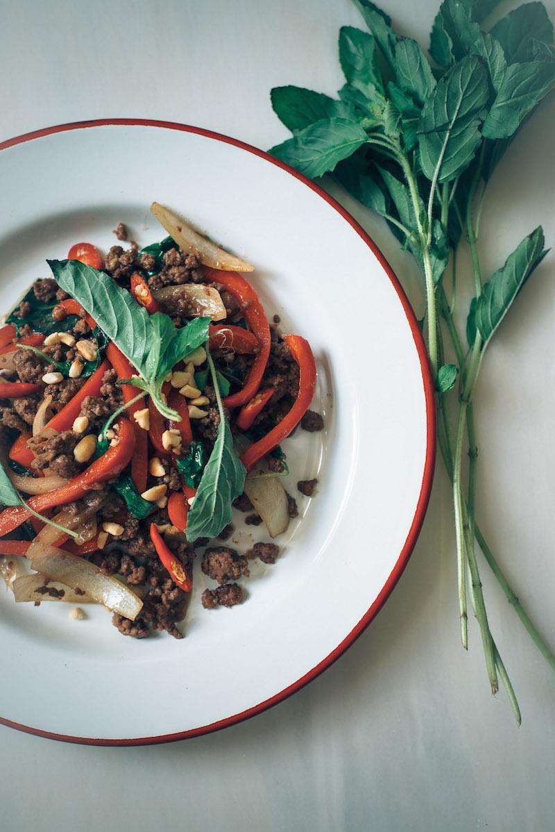 Thai&Techno - holy beef stir-fry