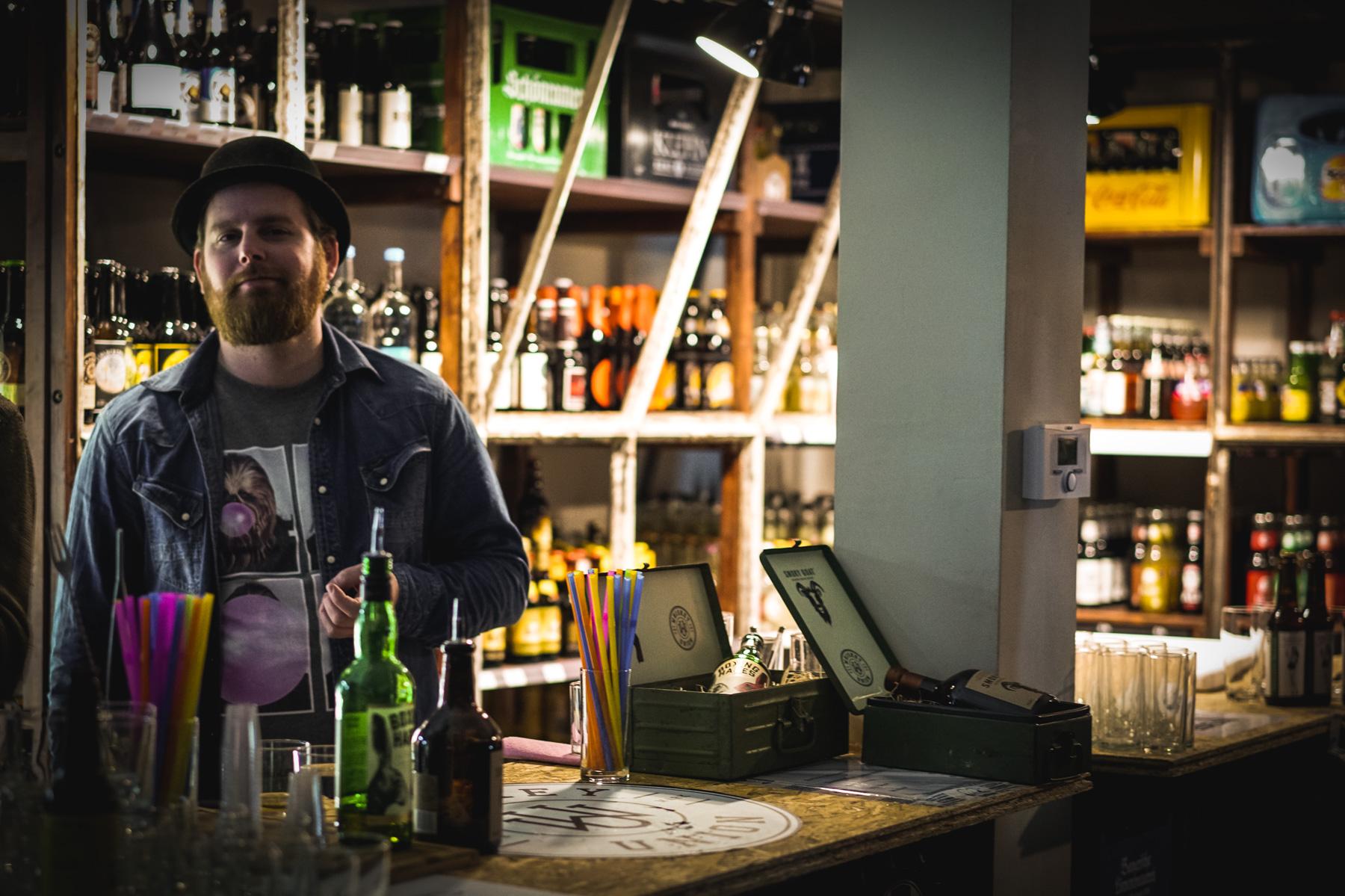 Das ist Tobi aus Berlin, einer der Whiskey Union Markenbotschafter.