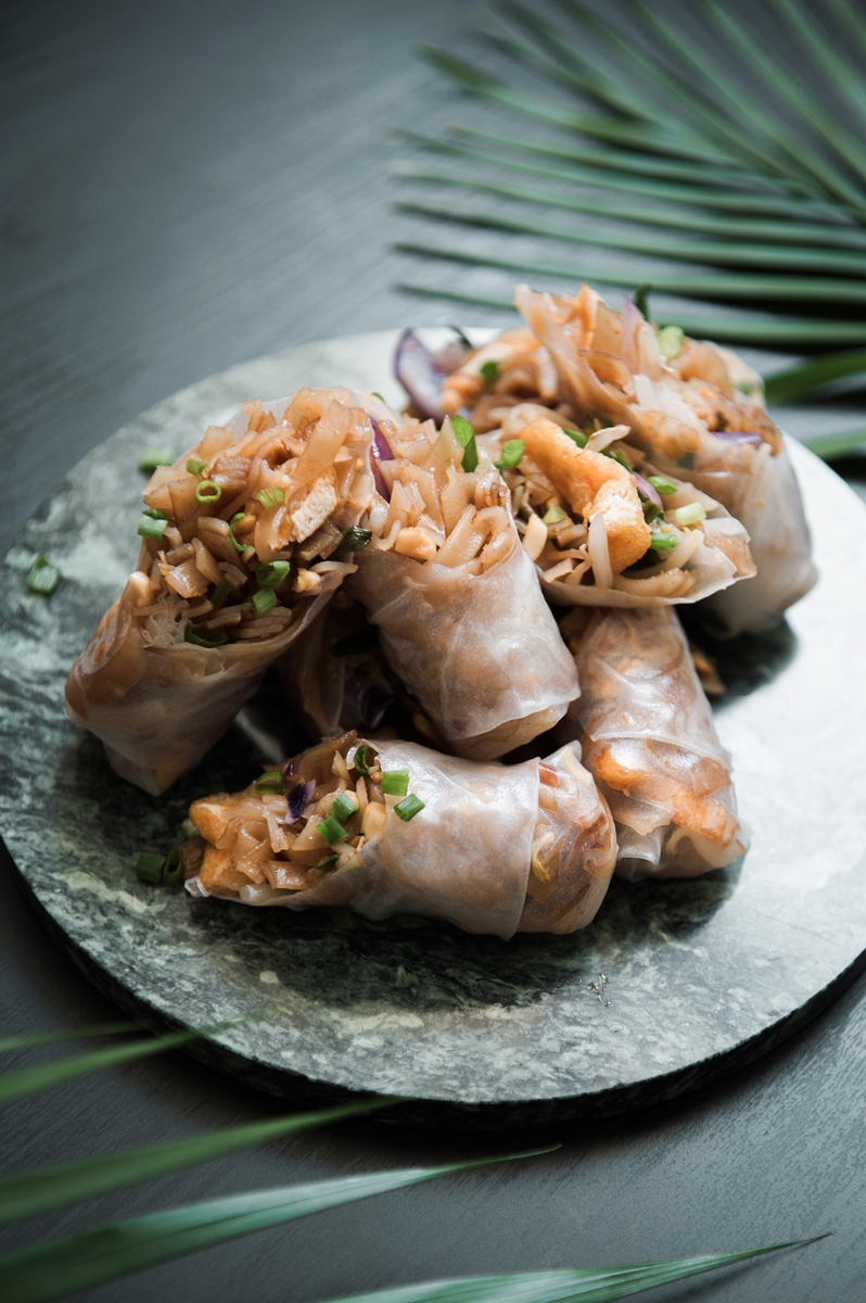 Pad-Thai-Rolls