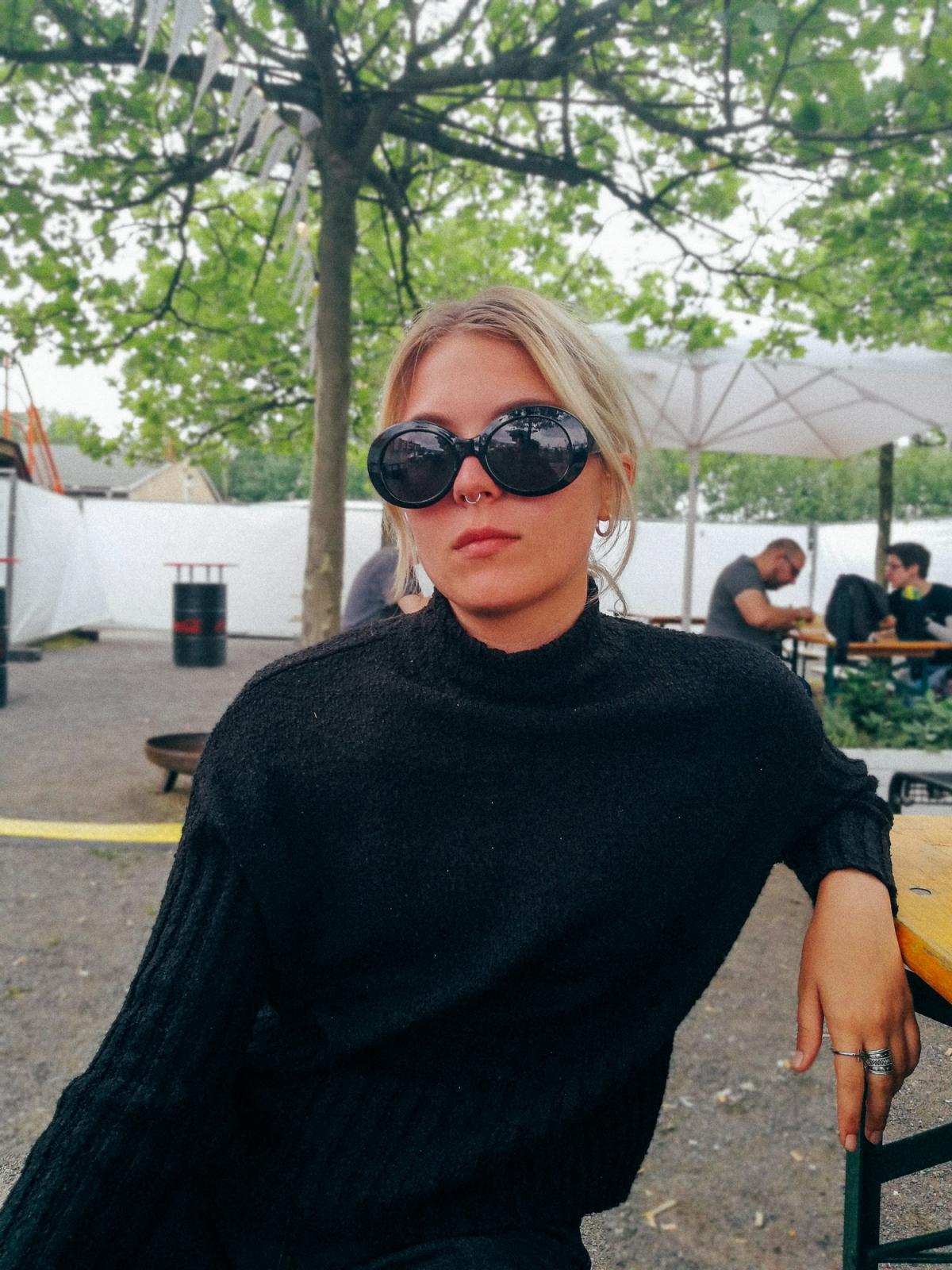 Julia, aufgenommen mit der 11-Blende