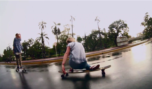 longboards girls crew argentina - smash girls - longboarding video
