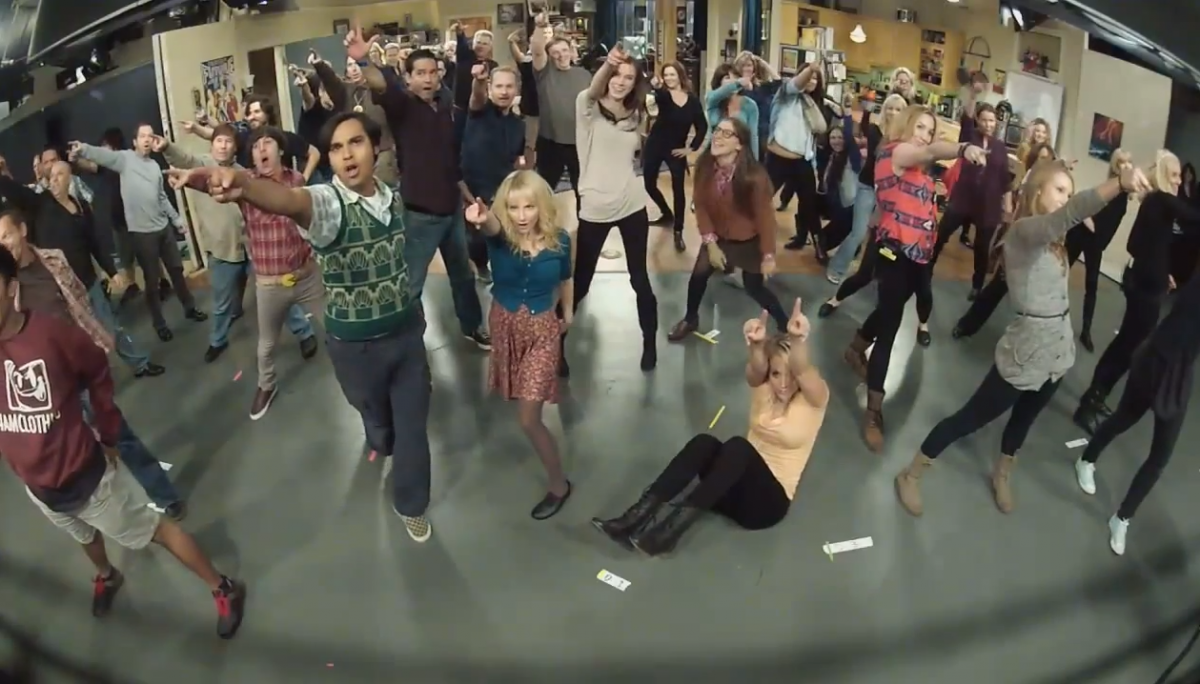 The Big Bang Theory Flash Mob