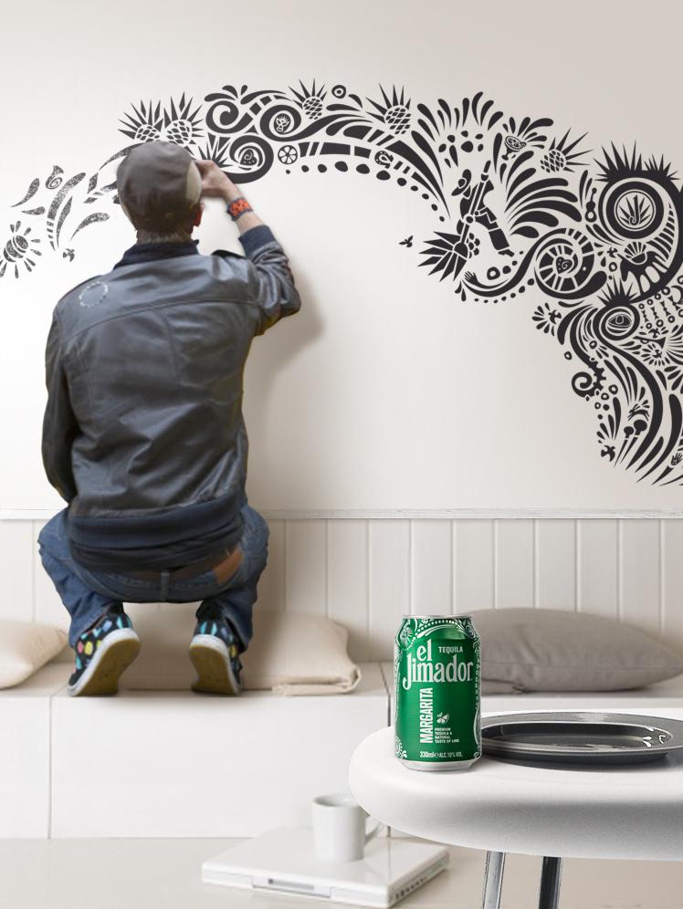 el jimador verlost street art für dein wohnzimmer | electru.de, Hause deko
