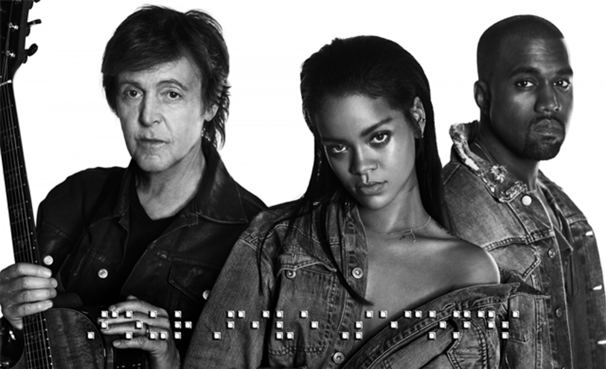 Rihanna-KanyeWest-PaulMcCartney-FourFiveSeconds-Video-cover
