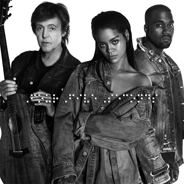 Rihanna-KanyeWest-PaulMcCartney-FourFiveSeconds-Video