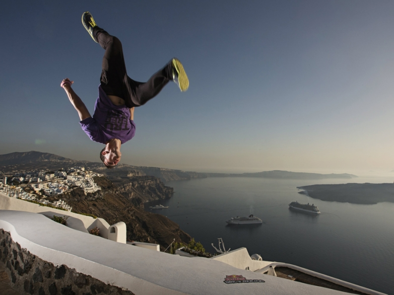 Competitor - Action - Red Bull Art of Motion 2012 Santorini