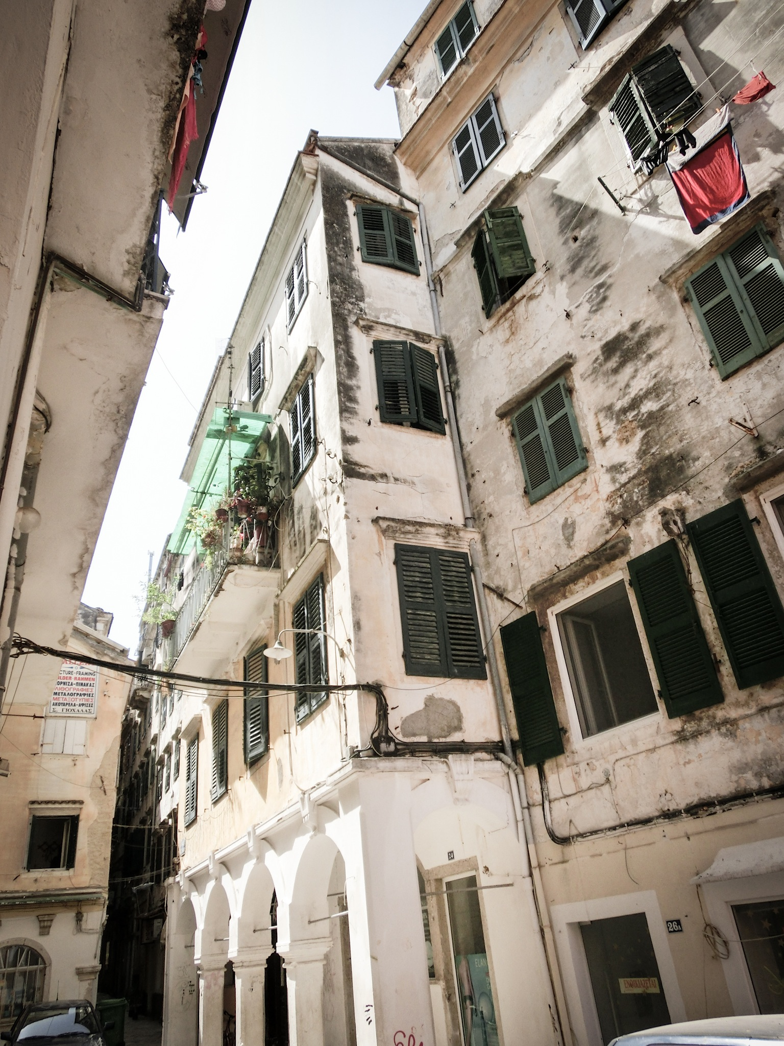 House Facades of Corfu