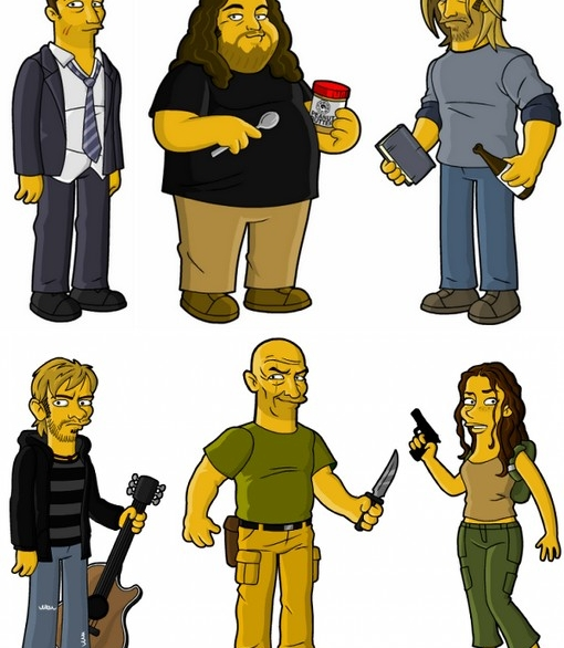 lost_simpsonized