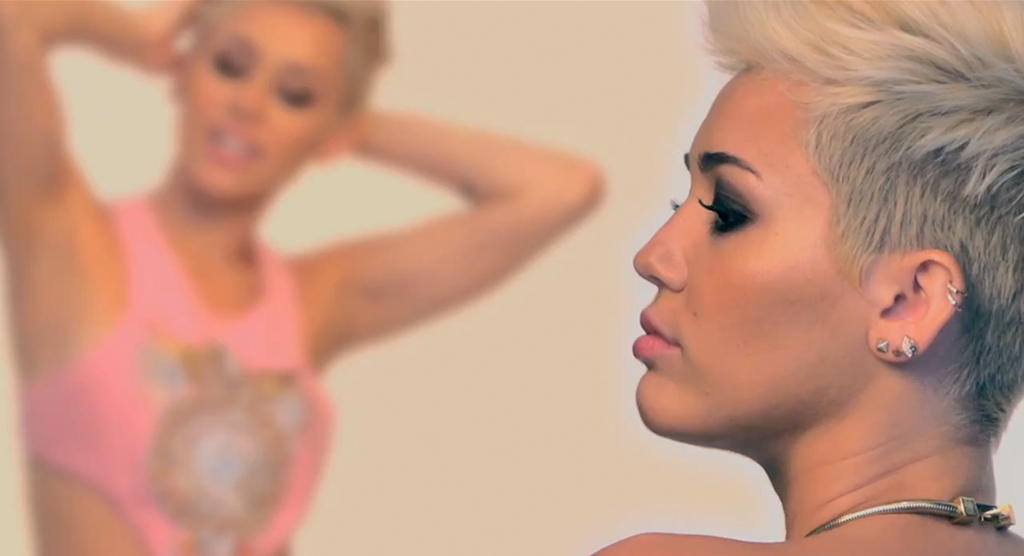 Miley Cyrus For Elle Uk