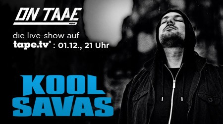 Win 2×2 Tickets: Kool Savas live ON TAPE in Berlin