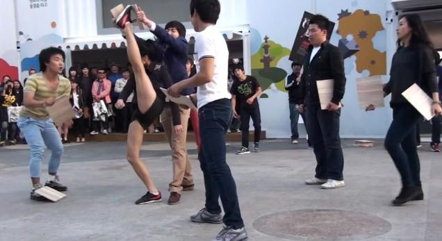 taekwondoshuffleinkorea