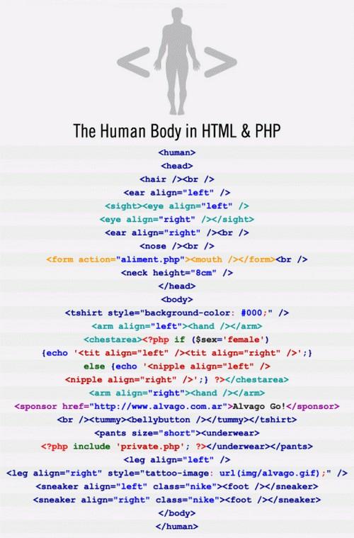 thehumanbody_in_htmlandphp